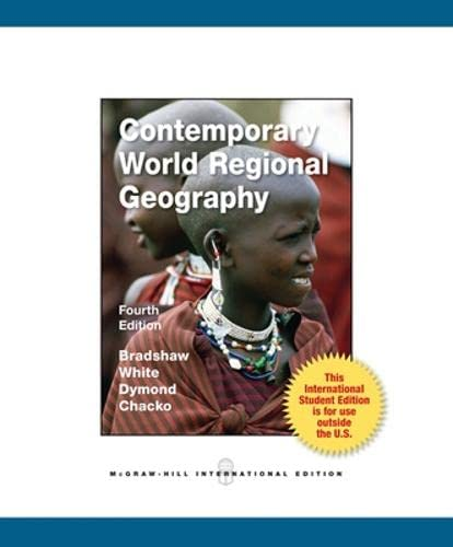 9780071314732: Contemporary World Regional Geography