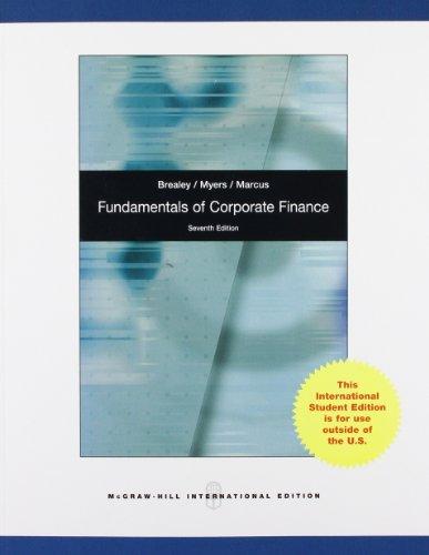 9780071314749: Fundamentals of Corporate Finance