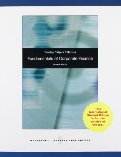 9780071314749: Fundamentals of Corporate Finance