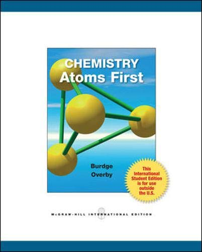 9780071314787: Chemistry: Atoms First
