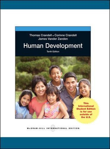 9780071314909: Human Development (Int'l Ed)