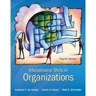 9780071314992: Interpersonal Skills in Organizations