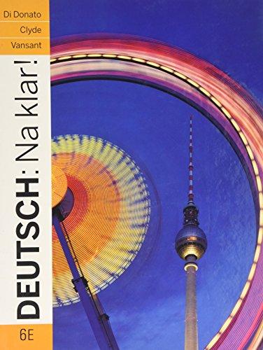 9780071315005: Deutsch: Na Klar! an Introductory German Course