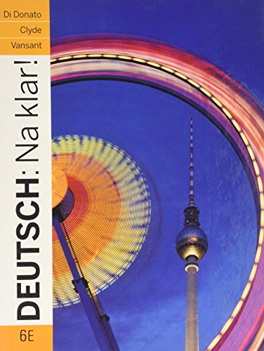 9780071315005: Deutsch: Na Klar! an Introductory German Course
