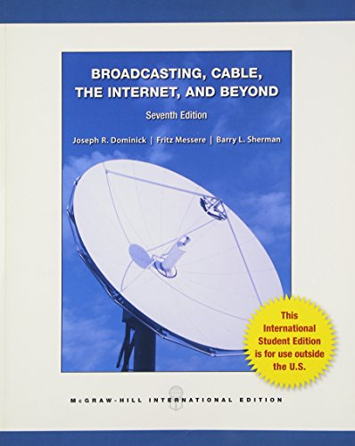 9780071315036: Broadcasting Cable the Internet and Beyond: An Introduction to Modern Electronic Media