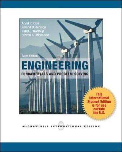 9780071315074: Engineering Fundamentals and Problem Solving (Int'l Ed)