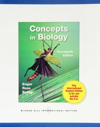 9780071315081: Concepts in Biology (Int'l Ed)