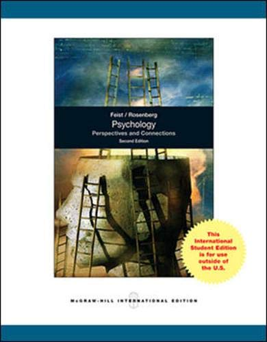9780071315104: Psychology: Making Connections: Perspectives and Connections