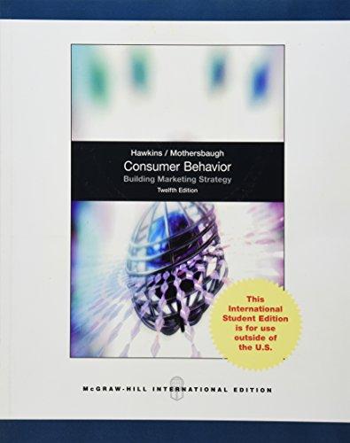 9780071315128: Consumer Behavior: Building Market Strategy