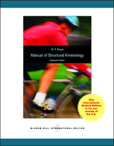 9780071315142: Manual of Structural Kinesiology