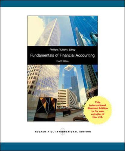 9780071315241: Fundamentals of Financial Accounting