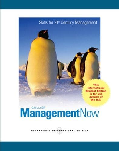 9780071315265: Management: A Real World Approach (College Ie Overruns)