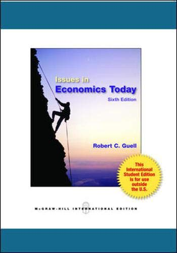 9780071315364: Issues in Economics Today