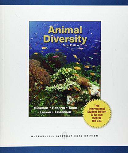 9780071315432: Animal Diversity