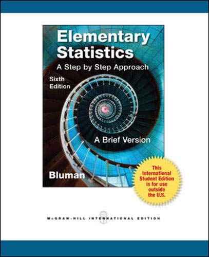 9780071315456: Elementary Statistics: a Brief Version with CD and Formula Card