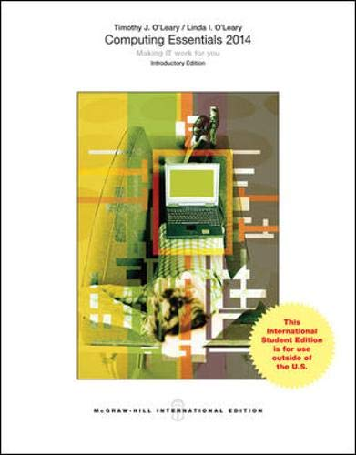 9780071315517: Computing Essentials 2014 Introductory Edition