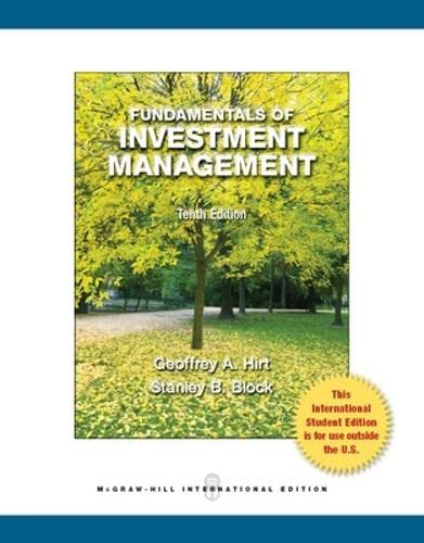 9780071315524: Fundamentals of Investment Management