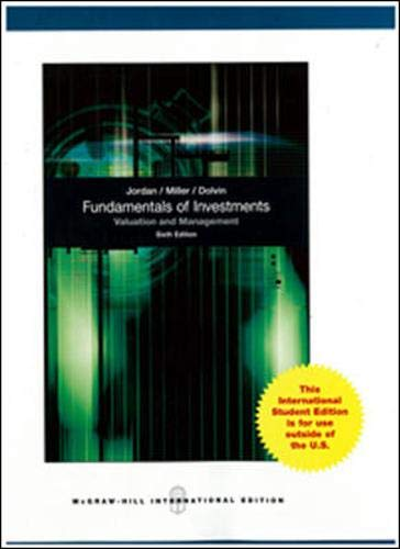 9780071315647: Fundamentals of Investments