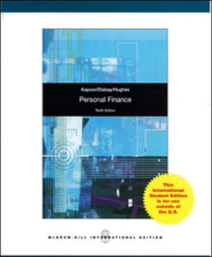 9780071315661: Personal Finance