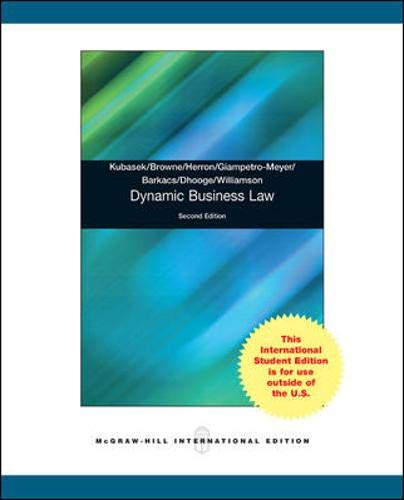 9780071315746: Dynamic Business Law
