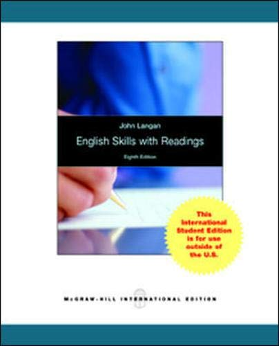 9780071315760: English Skills with Readings