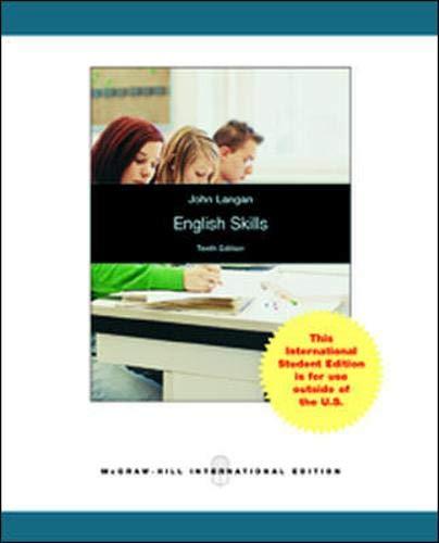 9780071315777: English Skills