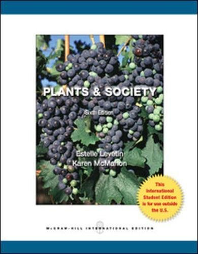 9780071315821: Plants and Society