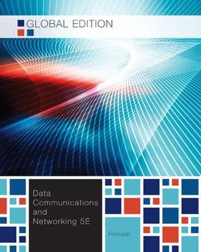 9780071315869: Data Communications and Networking, Global Edition