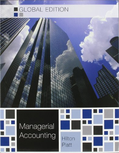9780071315906: Managerial Accounting with Connect Plus - Global edition
