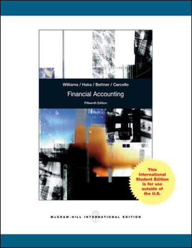 9780071315913: Financial Accounting