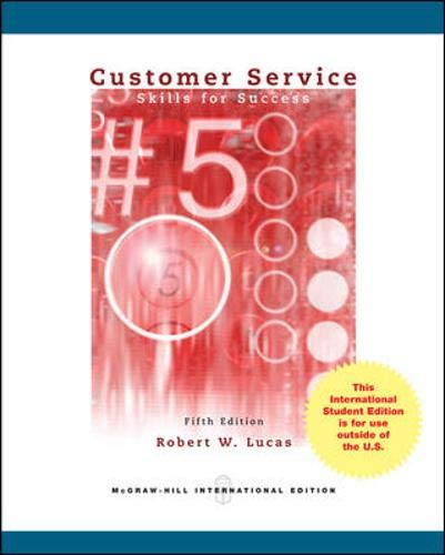 9780071315920: Customer Service Skills for Success