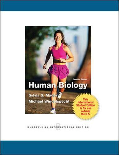 9780071315944: Human Biology