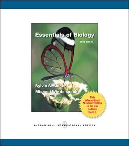 9780071315951: Essentials of Biology