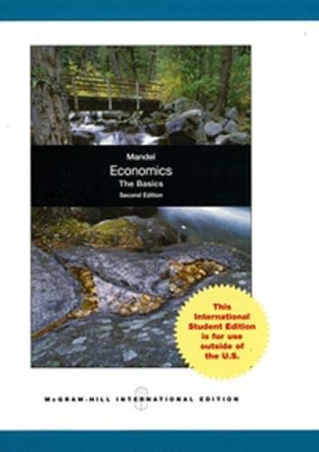 9780071316026: Economics The Basics