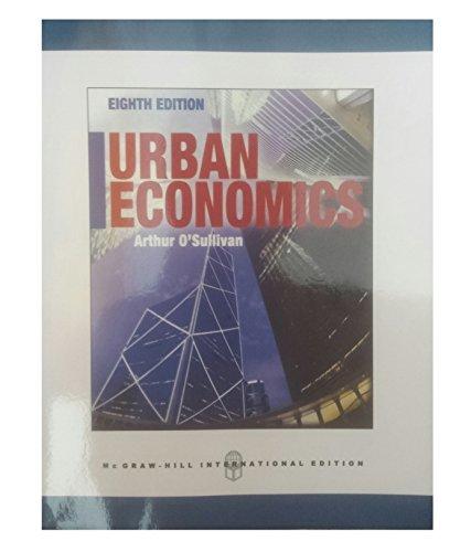 9780071316163: Urban Economics