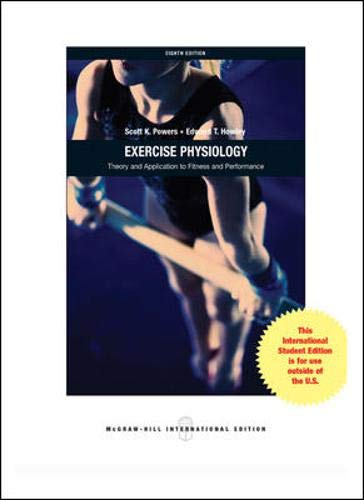 9780071316262: Exercise Physiology: Theory and Application to Fitness and Performance