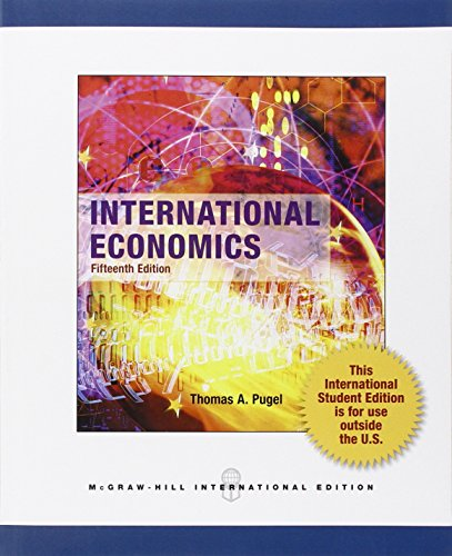 9780071316286: International Economics (Int'l Ed)