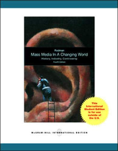 9780071316323: Mass Media in a Changing World