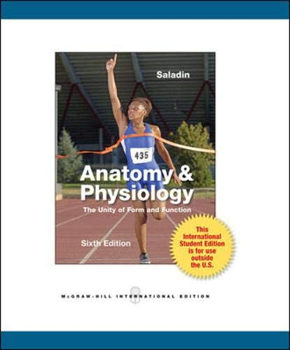 9780071316385: Anatomy and Physiology: The Unity of Form and Function