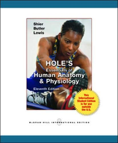 Holes Essentials Human Anatomy by David Shier - AbeBooks