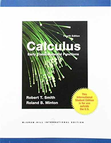 9780071316569: Calculus: Early Transcendental Functions