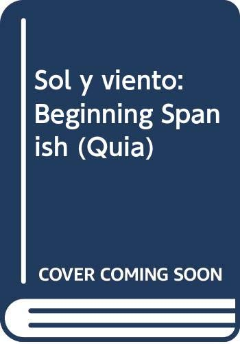 9780071316828: Sol y viento: Beginning Spanish