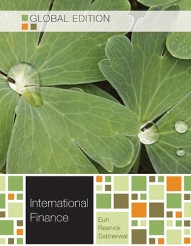 9780071316972: International Finance