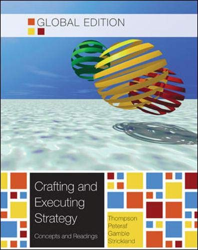9780071316996: Crafting and Executing Strategy: Concepts and Readings, Global Edition