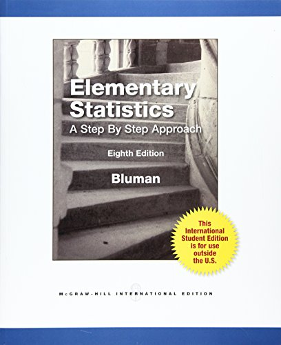 9780071317030: Elementary Statistics: A Step by Step Approach