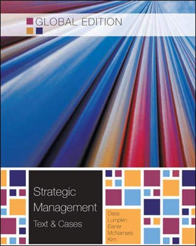 9780071317047: Strategic Management: Text and Cases