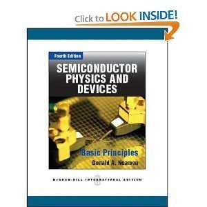 9780071317085: Semiconductor Physics and Devices: Basic Principles