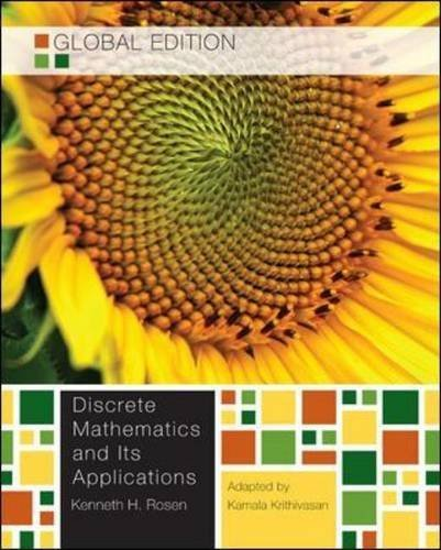 9780071317108: Discrete Mathematics and its Applications, Global Edition