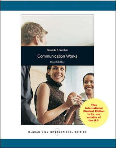9780071317528: Communication Works