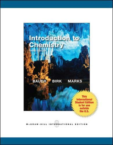 9780071317634: Introduction to Chemistry